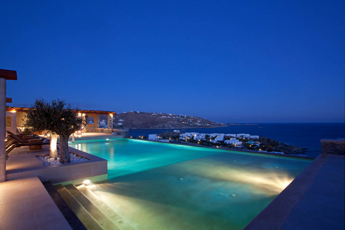 Greece Mykonos Villa Vacation Rentals Private Pool