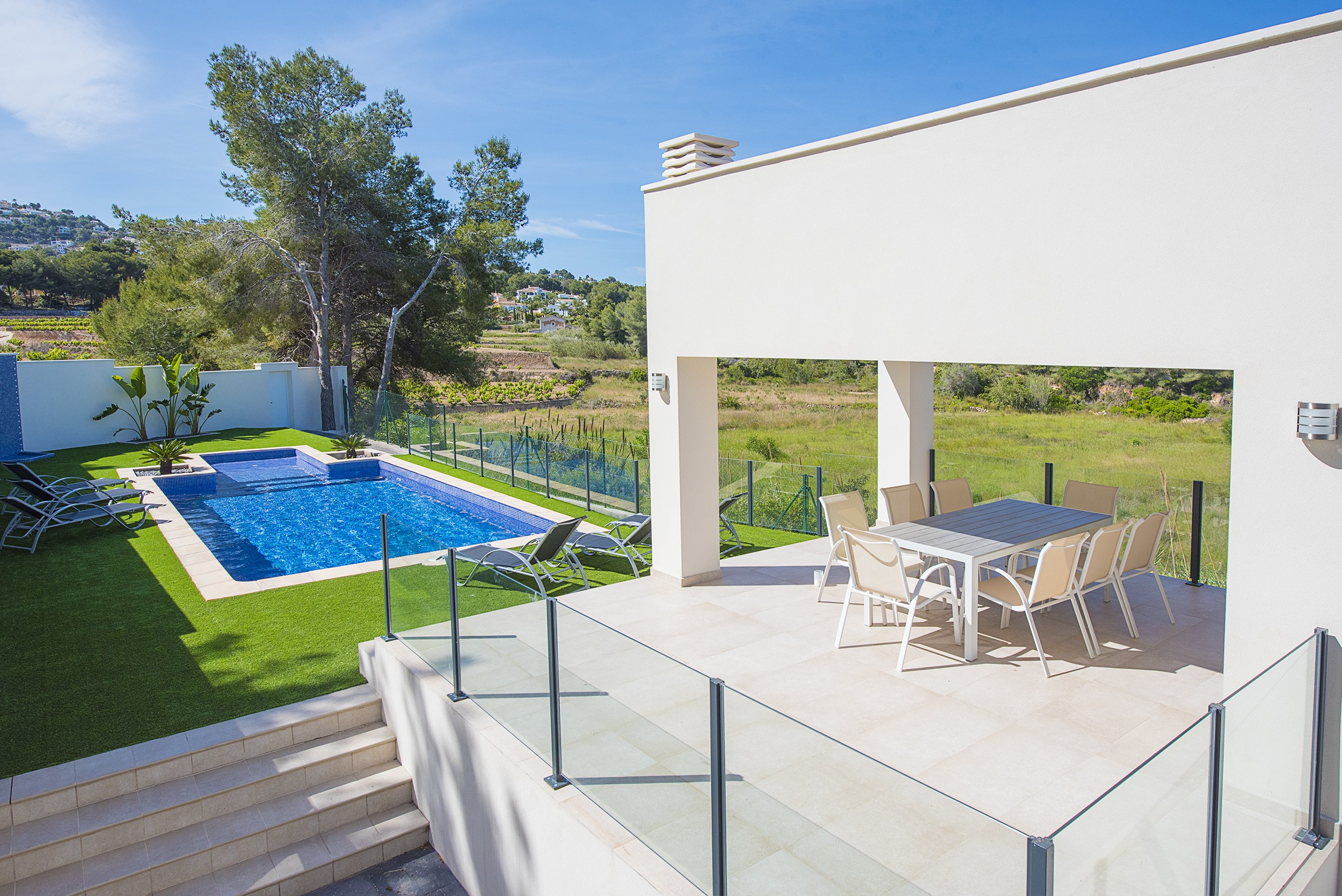 MORAIRA Rental Villa Private Pool Alicante (Costa Blanca)