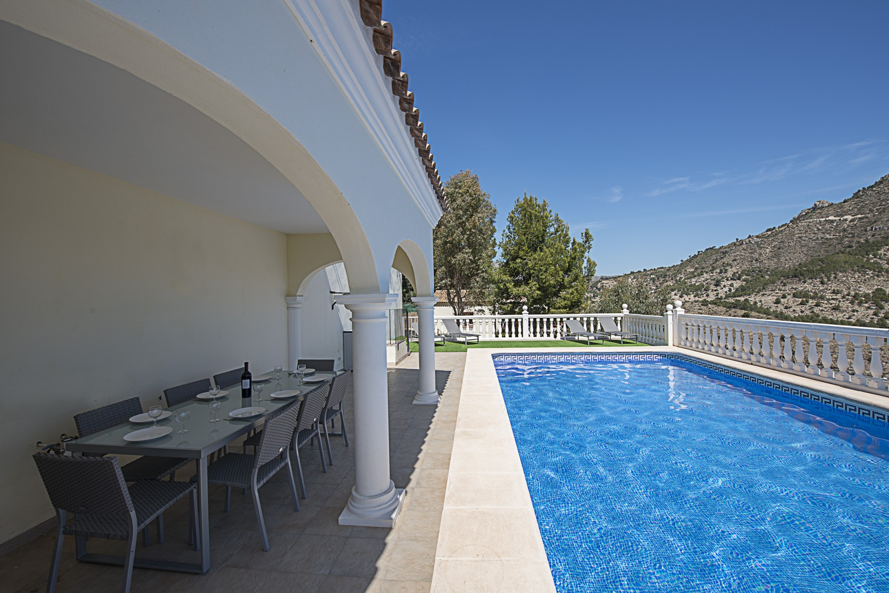 ... CALPE Villa Rental Private Pool Alicante Costa Blanca ...