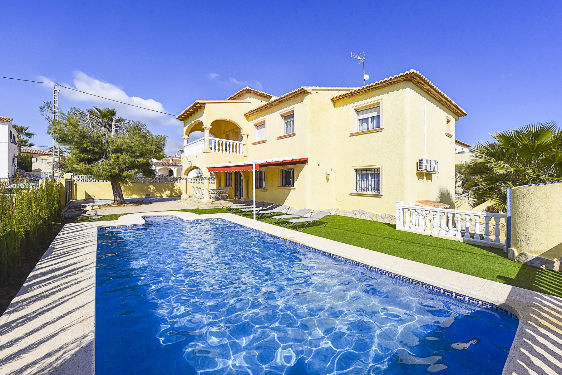 Beautiful CALPE Rental Villa Private Pool Alicante Costa Blanca
