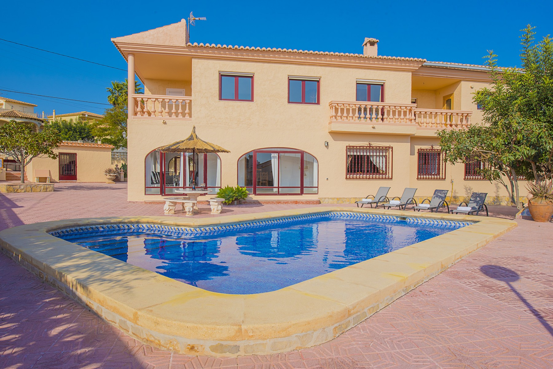 Awesome CALPE Rental Villa Private Pool Alicante Costa Blanca