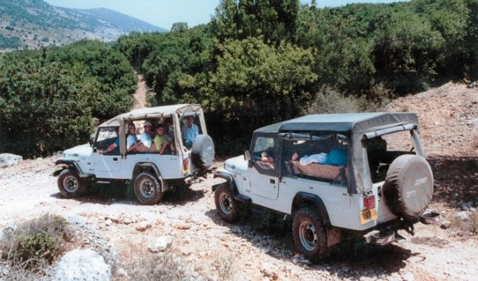 Golan Heights Jeep Tour