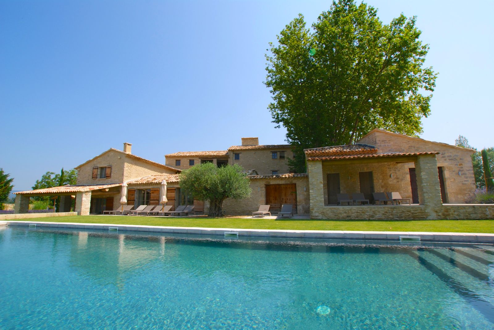 Provence Luberon Luxury Villa Rentals With Heated Private Pool Hammam  Jacuzzi ...