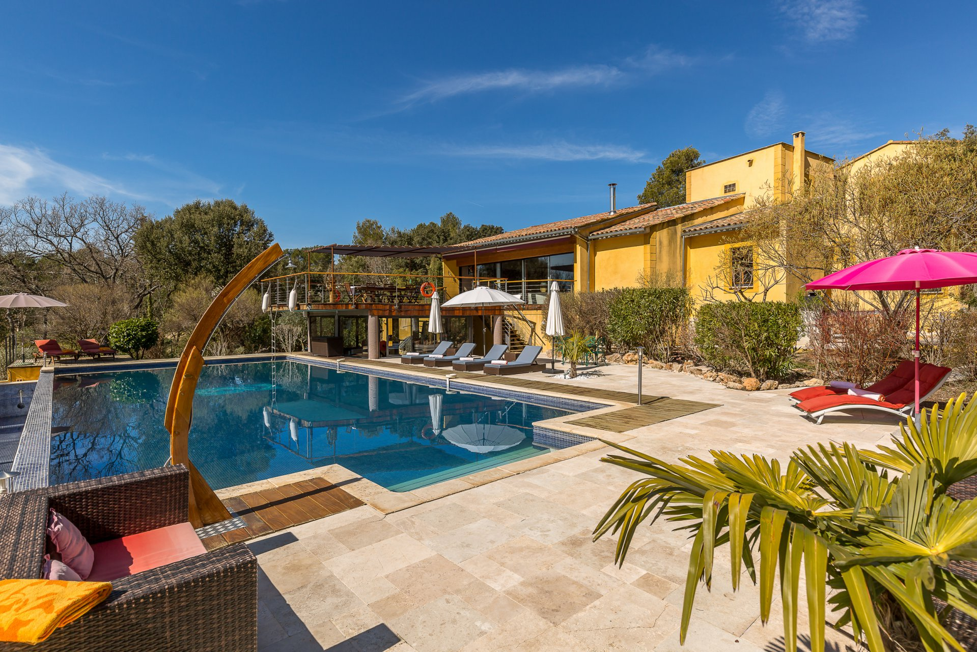 ... Provence Luxury Villa Rentals Aix En Provence Heated Private Pool Sauna  ...