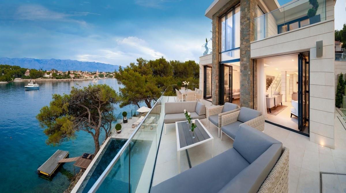 Croatia Villa Vacation Als Sumartin Brac