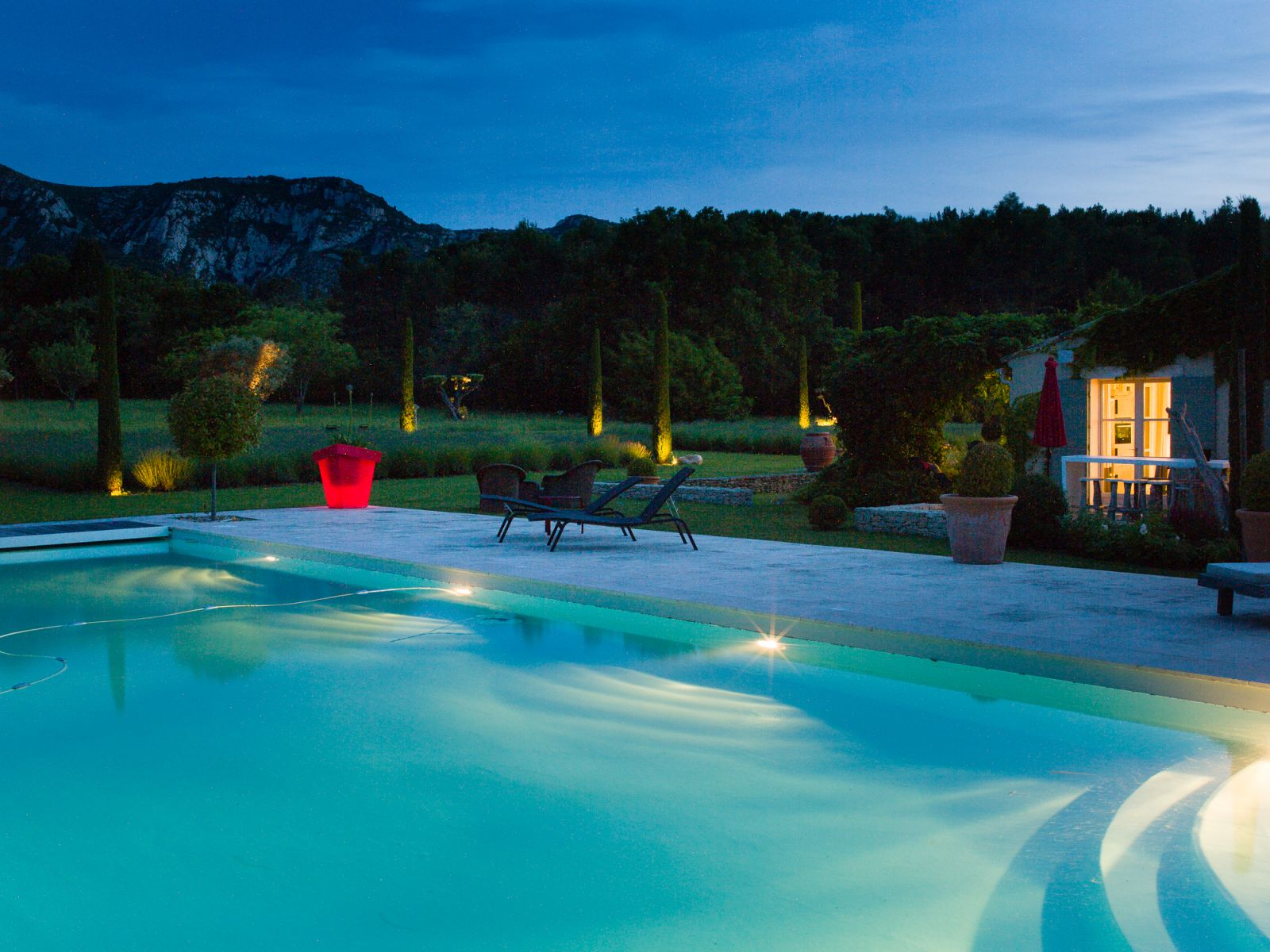 ... Saint Remy De Provence Luxury Villa Rentals With Heated Private Pool  And Indoor Pool ...