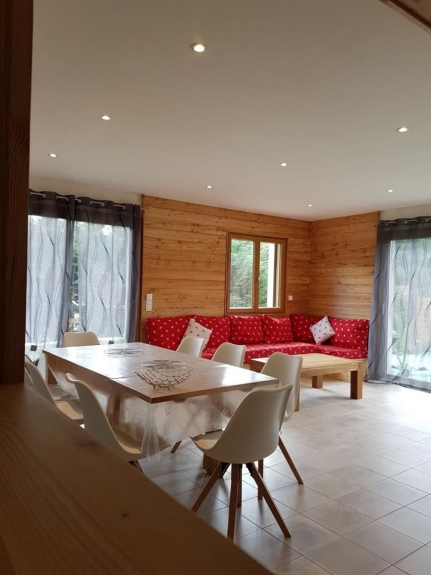 Serre Chevalier Chalet Rentals ski slopes  and sauna