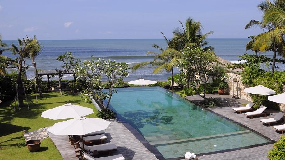 Indonesia Bali Beachfront Villa Vacation Rentals In Canggu With Private