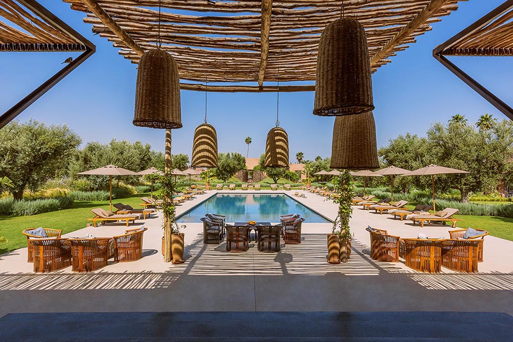 Marrakech Luxury villa vacation rentals with private pool and Staff