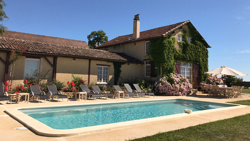 Dordogne Holiday home rental heated private pool