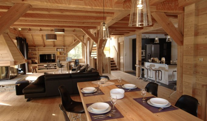 Serre Chevalier Luxury Chalet Rentals ski slopes spa concierge services
