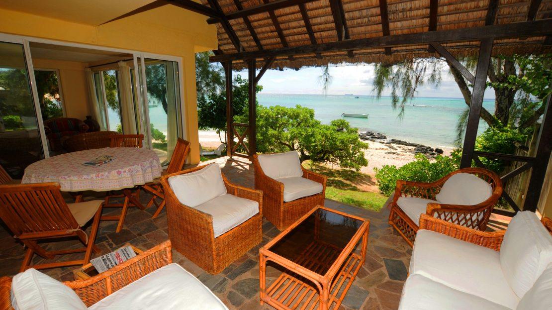 Mauritius beach house rental Pointe aux Canonniers (2)