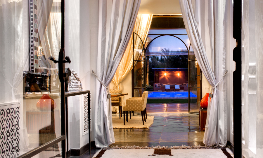 Marrakech villa rental  with heated pool and close to the center