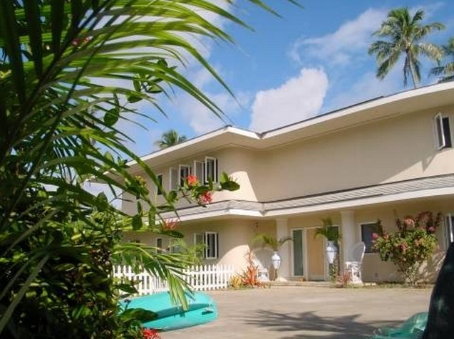 Hawaii Villa Vacation Rentals 5 Bedroom On The Beach Of Kailua Oahu Island