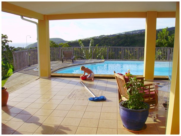 Rent A Holiday Villa With Pool Near Fort De France In Martinique And  Schoelcher ...