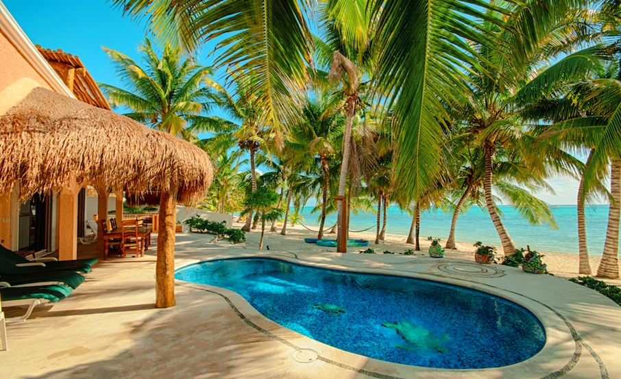 Luxury Beach House Tulum Vacation Rentals Private Pool And