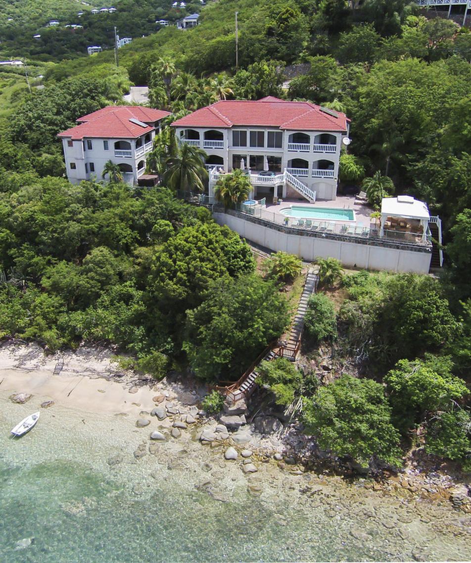 St john virgin island villa