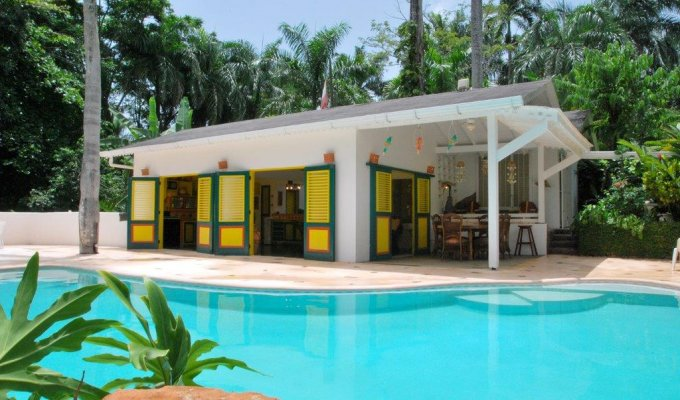 Villa Holiday rental at 150m from the Playa Bonita Beach, Las Terrenas, Dominican Republic