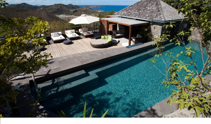 St Barths Holiday Rentals - Luxury Villa Vacation Rentals in St Barthelemy with private pool & ocean views - Lurin - FWI