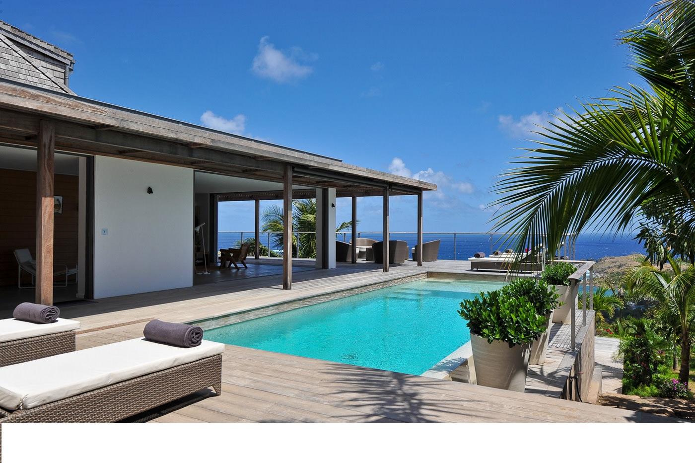 st barts villa rentals - st barthelemy villa rentals with private