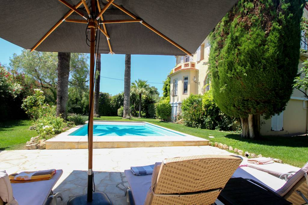 French Riviera Cap d\'Antibes Villa Rentals with heated pool