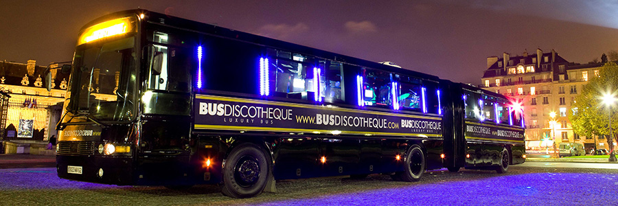 paris night disco bus events parties. Black Bedroom Furniture Sets. Home Design Ideas