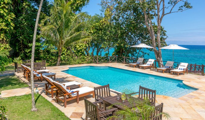 Jamaica villa vacation rentals private pool and full staff - Ocho Rios - Caribbean -