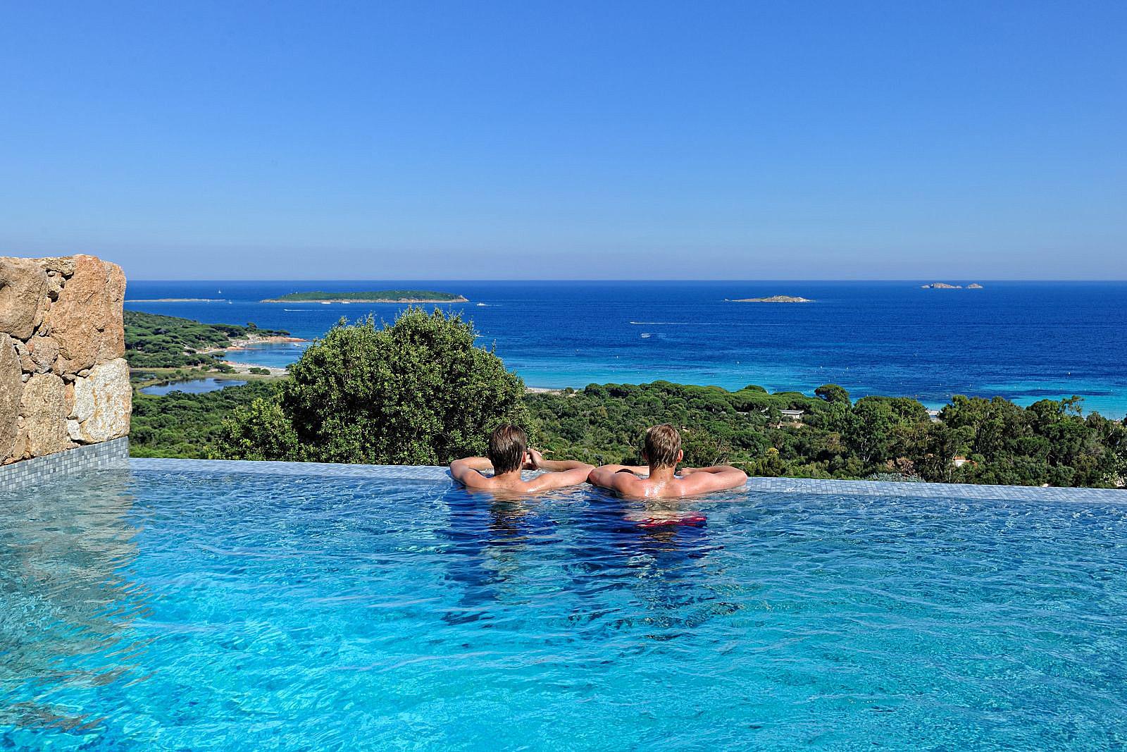 Porto Vecchio Villa Vacation Rentals Private Pool Panoramic Sea View  Corsica ...