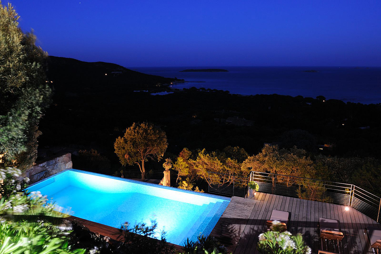 ... Porto Vecchio Villa Vacation Rentals Private Pool Panoramic Sea View  Corsica ...