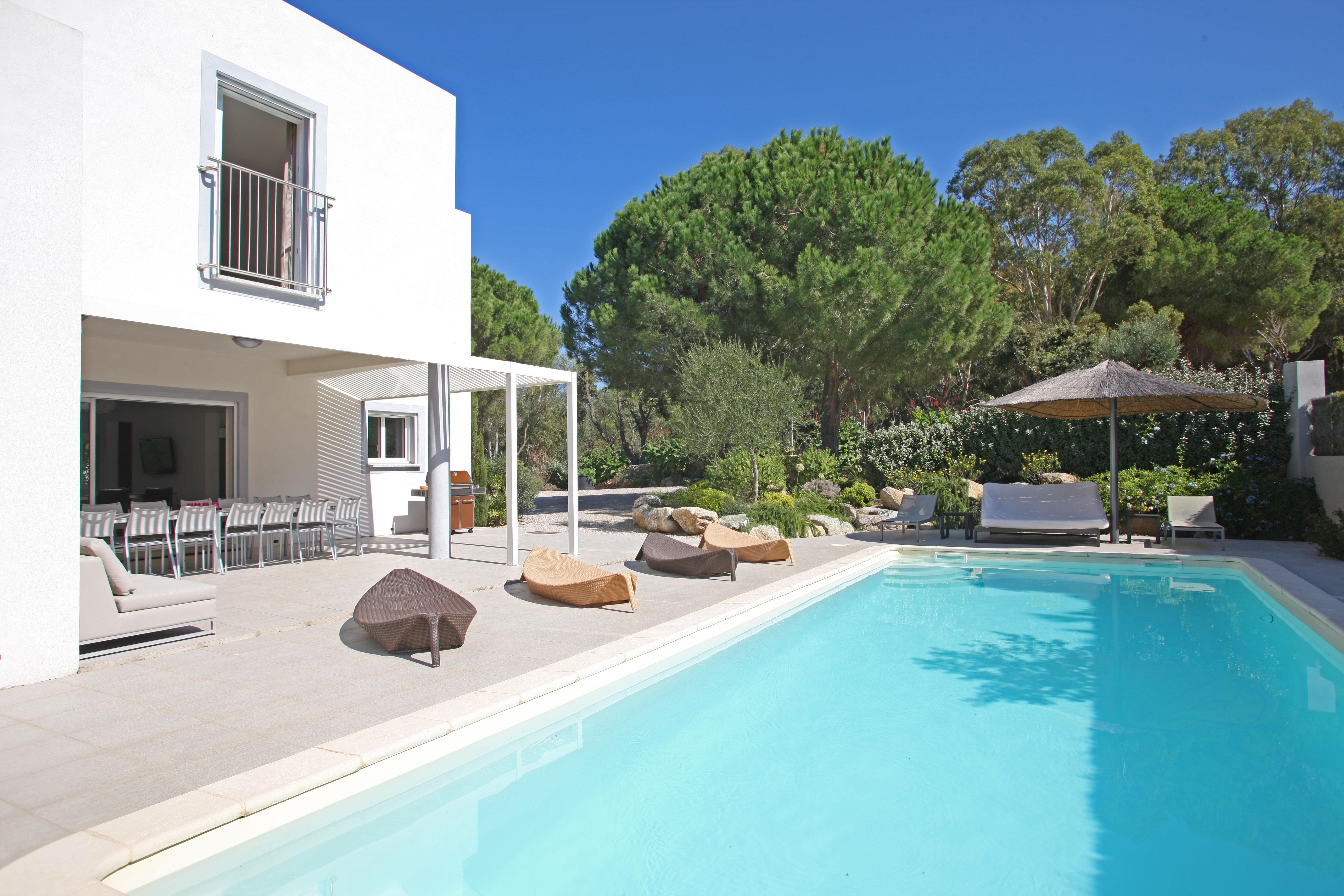 Calvi Villa Vacation Rentals Private Pool 900m From Beach Corsica ...