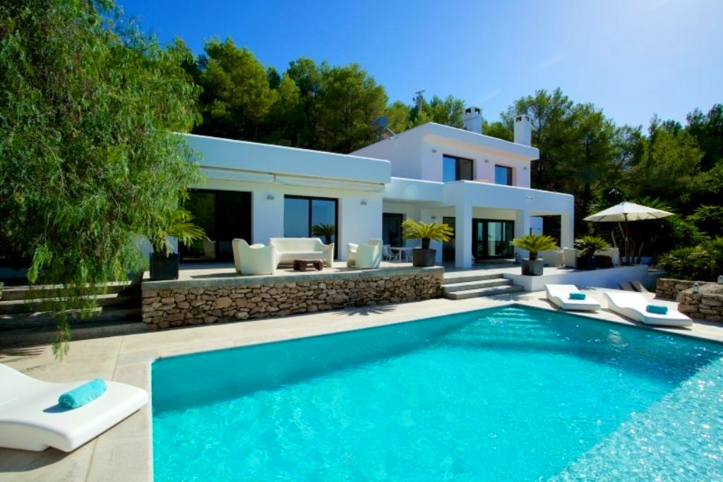 Ibiza Luxury Holiday Villa Rentals Private Pool Seaside Cala Tarida