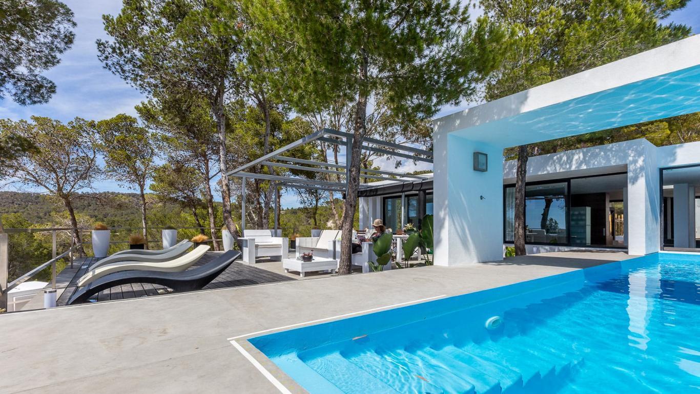 Luxury Villa To Rent In Ibiza Private Pool Seaviews Cala Vadella