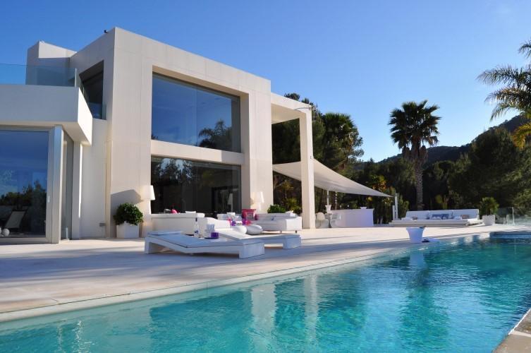 ibiza luxury holiday villa rentals private pool seaside san jose balearic. Black Bedroom Furniture Sets. Home Design Ideas