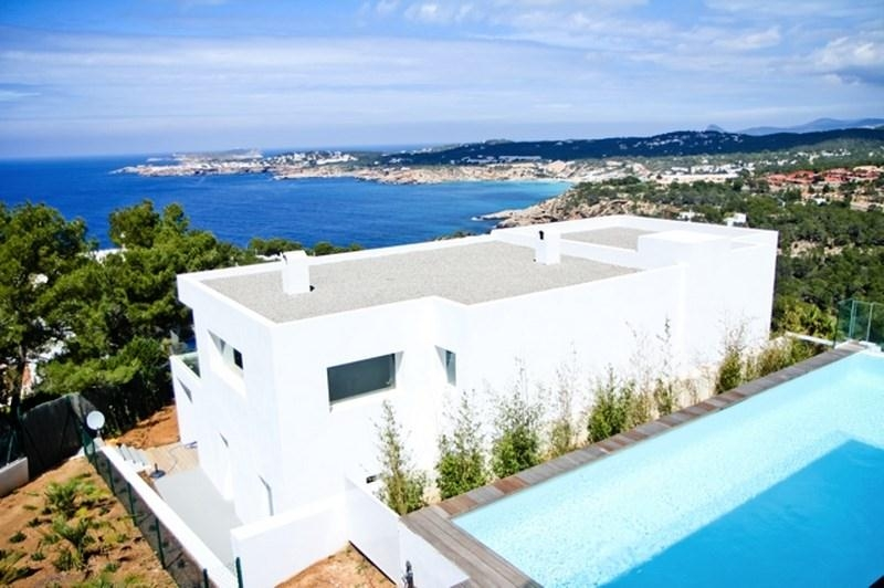 Ibiza Luxury Holiday Villa Rentals Private Pool Seaside Cala Moli Balearic  Islands Spain ...