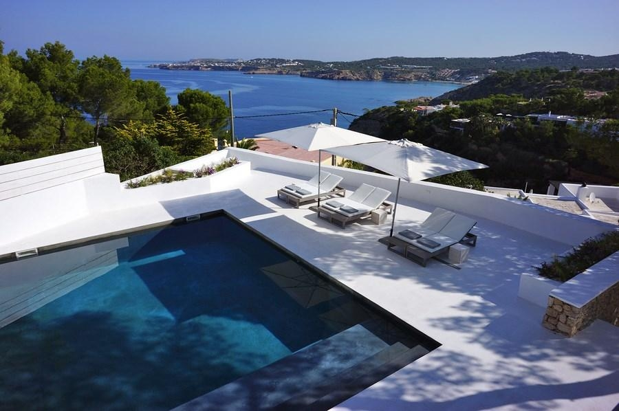 Exceptional ... Ibiza Luxury Villa Rentals Private Pool Seaside Cala Moli Balearic  Islands Spain ...