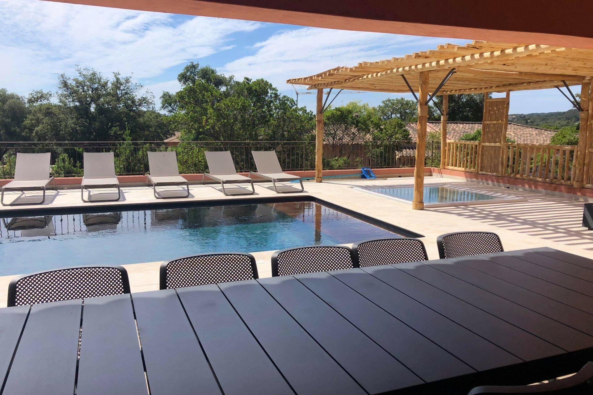 Ste Lucie De Porto Vecchio Luxury Villa Vacation Rentals 10 Pers Half Covered  Heated Pool Spa ...