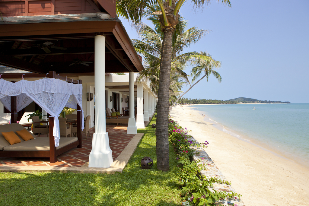Beachfront Koh Samui Villa Als In Maenam