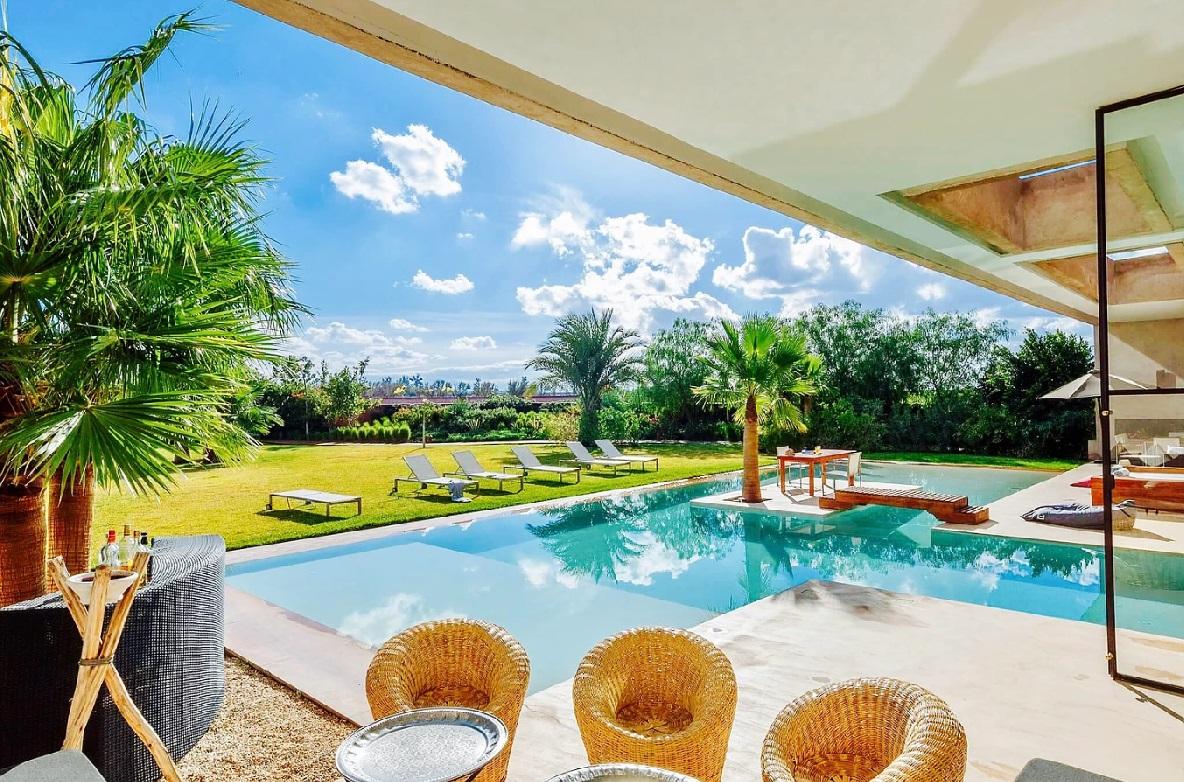 Pool Of Luxury Villa In Marrakech · Luxury Villa In Marrakech ...