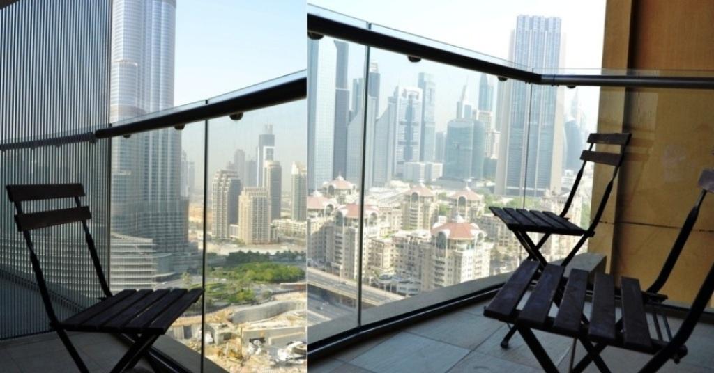 Dubai vacation rentals studio with burj khalifa view for Burj khalifa room rates