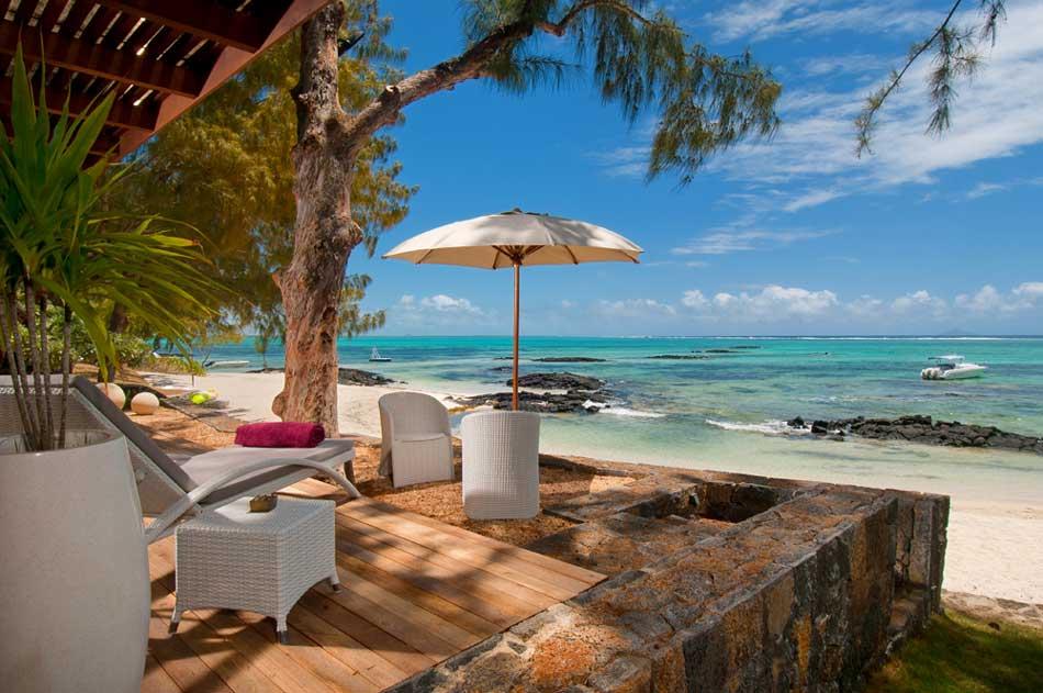 mauritius villa rentals on roches noires beach close to belle mare