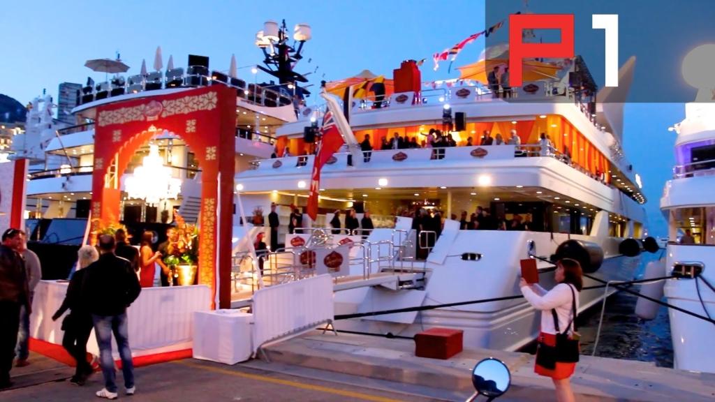 F1 Grand Prix Monaco Yacht Rental Vip Buffets With Open Bar