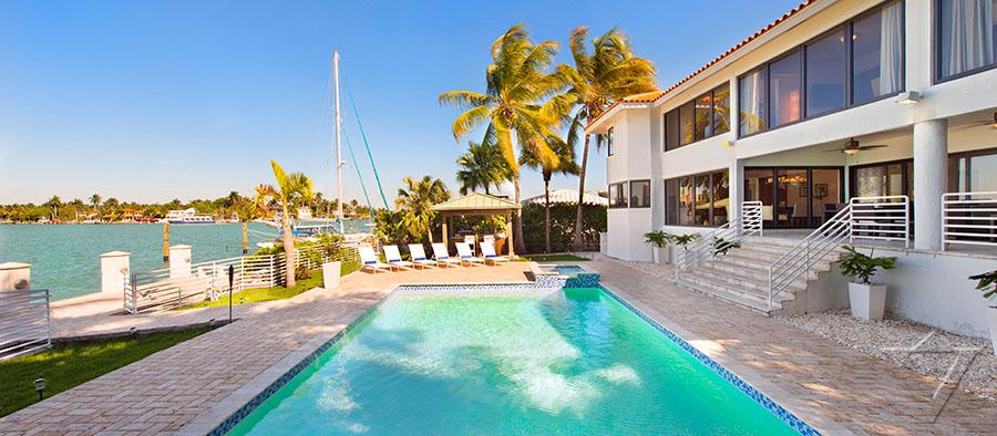 Vacation Al Luxury Villa Miami Beach Florida