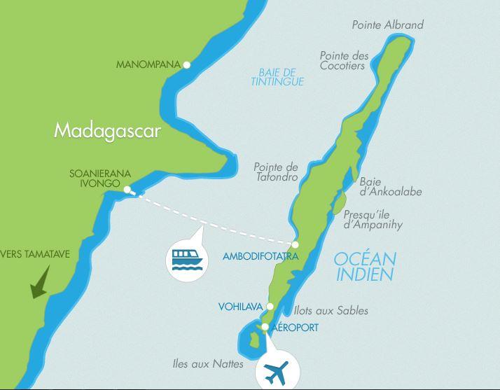 Ile Ste Marie Madagascar Carte.Madagascar Villa Vacation Rentals On The Beach On Sainte Marie Island