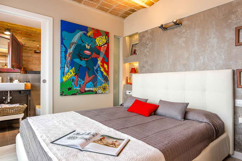 Apartment to rent in Barcelona for short term rentals Wifi AC terrace