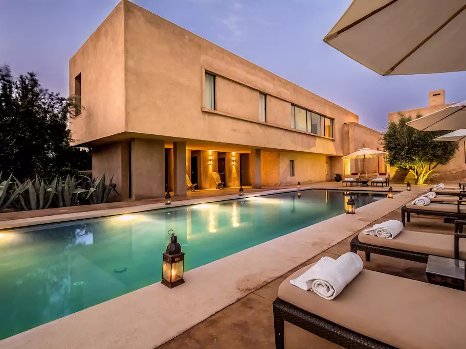 Villa In Marrakech With Pool ...