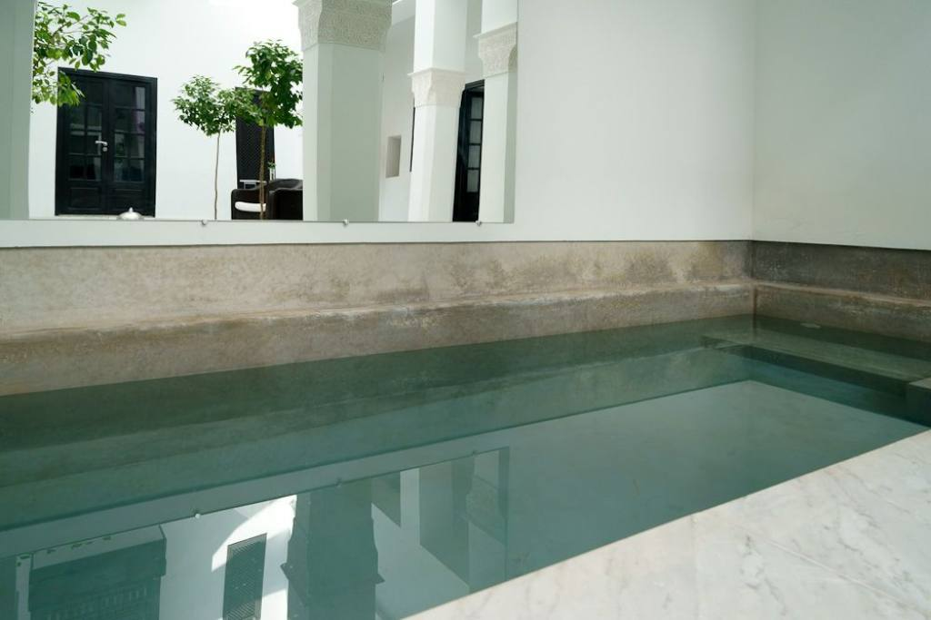 Pool of charmed riad in Marrakech