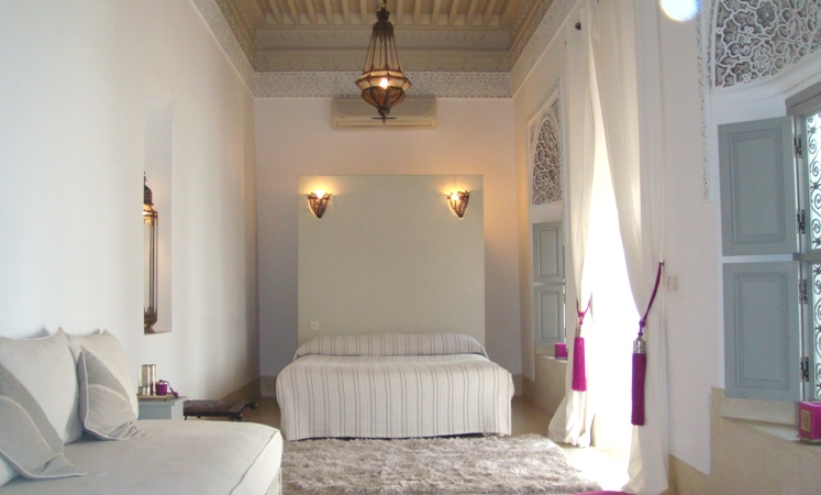 Room of charmed Riad in Marrakech
