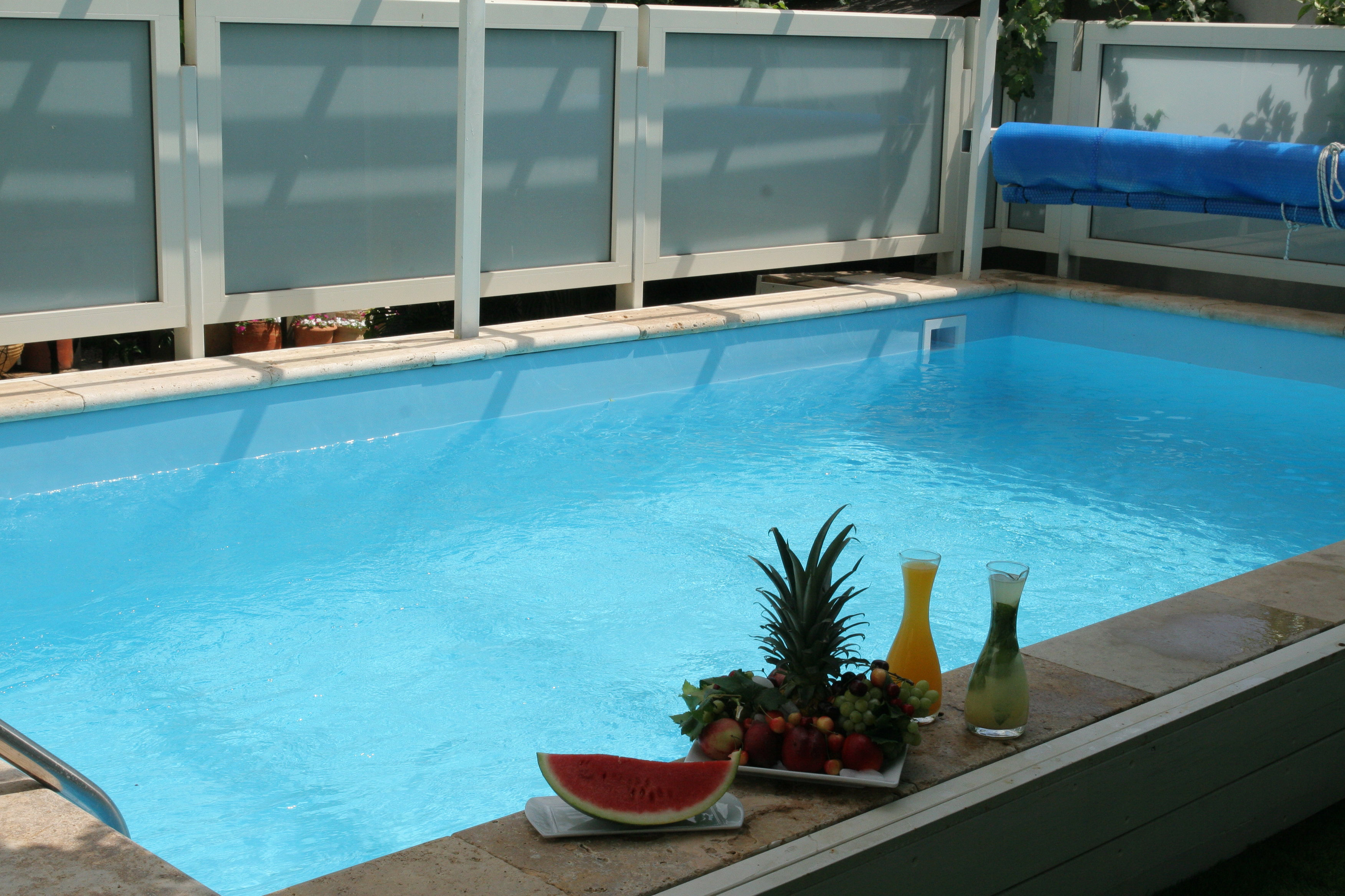 Israel Zimmer Vacation Rentals Pool Golan Heights