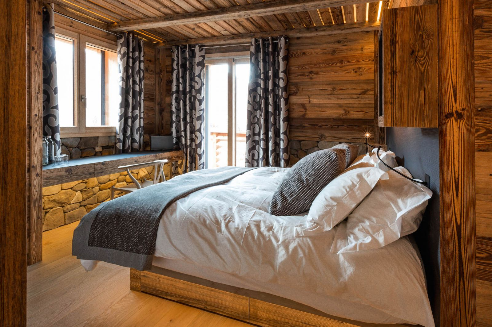 Serre Chevalier Luxury Chalet Rentals ski slopes indoor pool spa