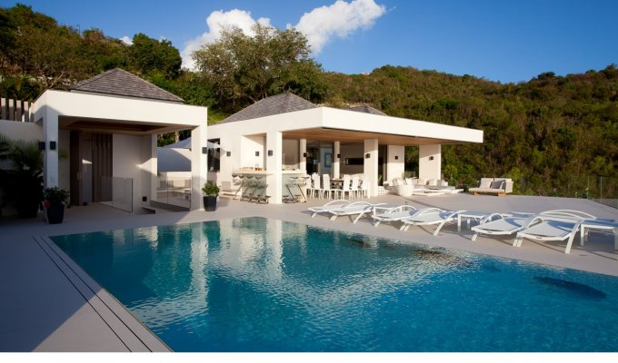 ST BARTHELEMY HOLIDAY RENTALS - Luxury Villa Vacation Rentals with private pool - Lurin Hillside - St Barths - FWI